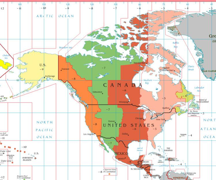 Atlantic Time Zone