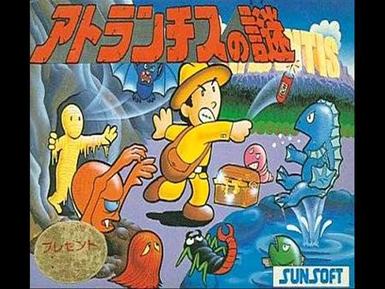 Atlantis no Nazo Atlantis No Nazo Nintendo Famicom Music Soundtrack YouTube