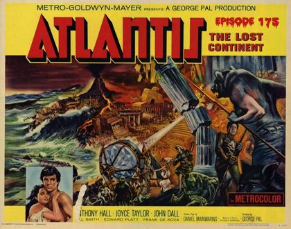 Atlantis, the Lost Continent BMC175Atlantis the Lost Continent 1961 with Brother D Toll Free