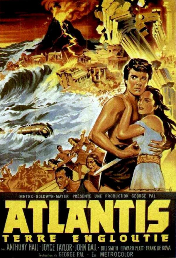 Atlantis, the Lost Continent Atlantis the Lost Continent 1961 movie poster 1 SciFiMovies