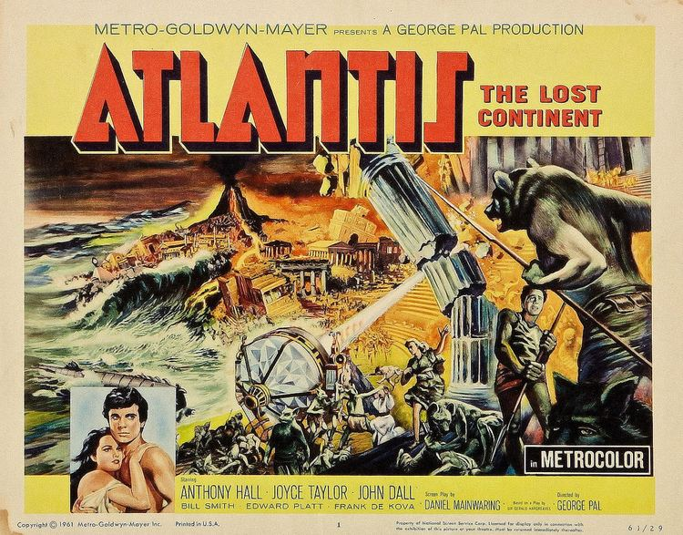 Atlantis, the Lost Continent Atlantis the Lost Continent MGM 1961 Title Lobby Card Flickr