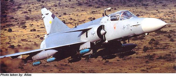 Atlas Cheetah The FriedrichFiles Dassault Mirage III and Atlas Cheetah