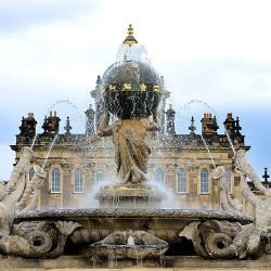 Atlas Fountain Castle Howard A landscape of lakes fountains and water features