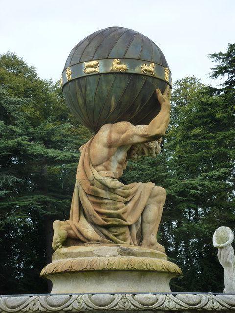 Atlas Fountain 1000 images about Tattoo Atlas on Pinterest Hercules Greek god