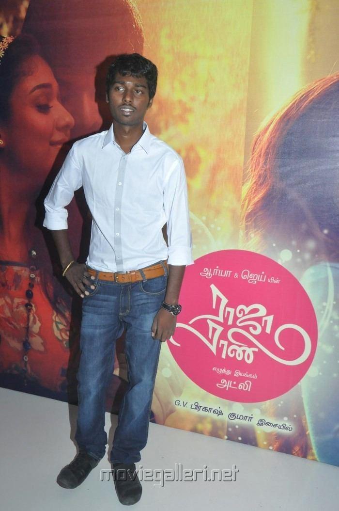 Atlee (director) Picture 543199 Director Atlee Raja Rani Audio Launch