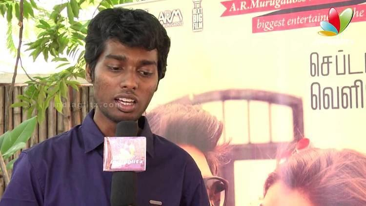 Atlee (director) Atlee Kumar Interview Raja Rani Director Nazriya Arya
