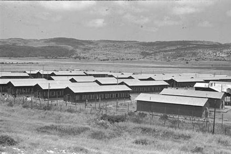Atlit detainee camp FilePikiWiki Israel 7784 Illegal immigrants camp Atlitjpg
