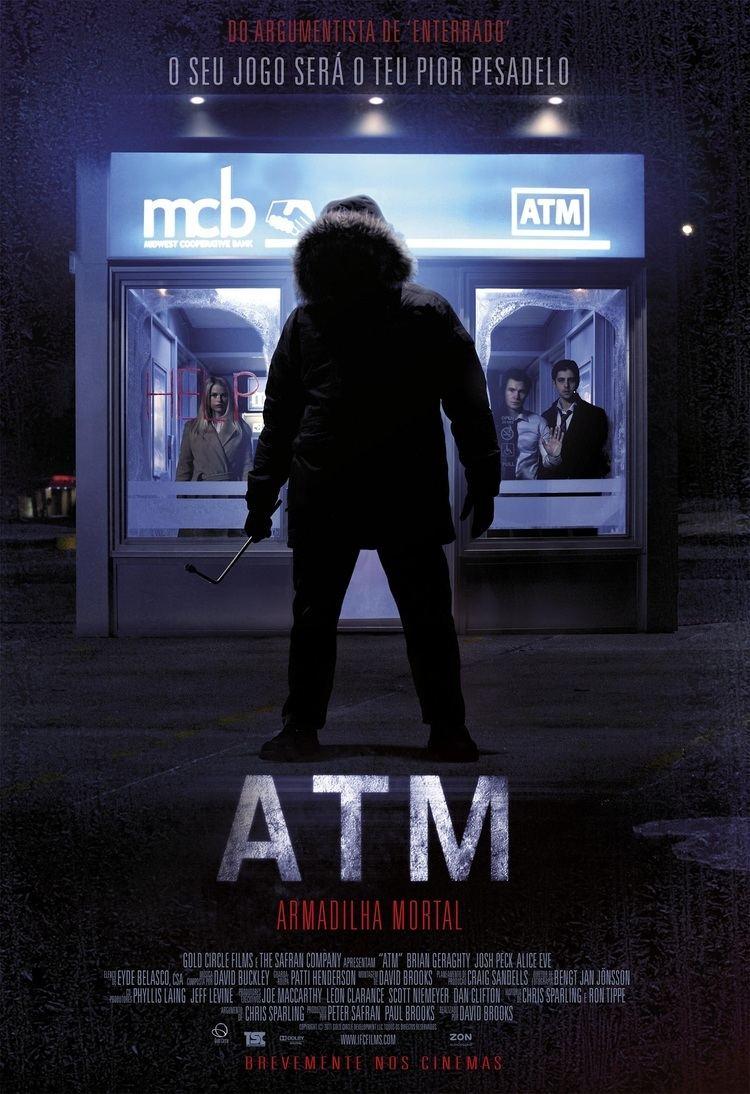 ATM (2012 film) ATM 2012 Filmes de Terror