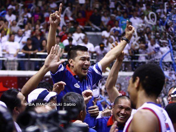 Ato Agustin Former PBA MVP Ato Agustin pricks Grand Slam bubble Inquirer Sports