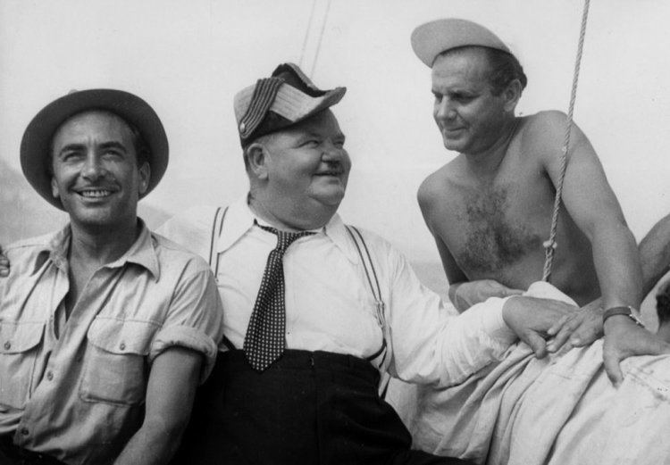 Atoll K BFI screens longlost Laurel and Hardy print BFI