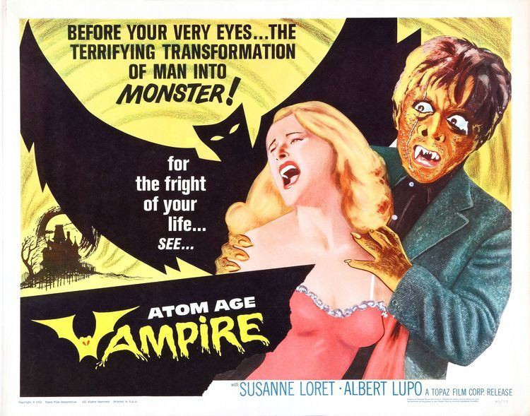 Atom Age Vampire Atom Age Vampire 1960 RetroVision Media