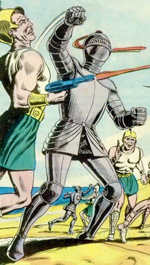 Atomic Knight Atomic Knights PreCrisis DC Comics 1960 original Broome