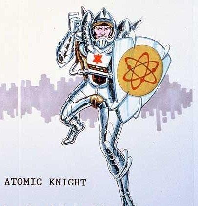 Atomic Knight Atomic Knight Character Comic Vine
