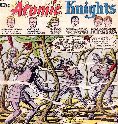 Atomic Knight Atomic Knights screenshots images and pictures Comic Vine