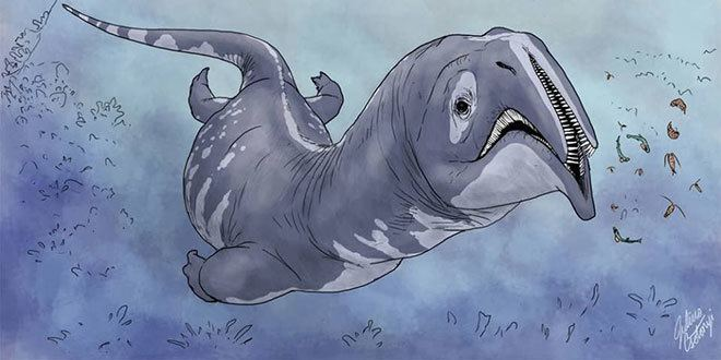 Atopodentatus Atopodentatus unicus un monstru marin unic i bizar SciNews