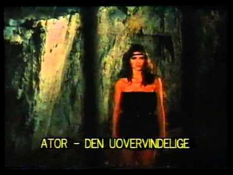 Ator linvincibile 2 movie scenes Joe D Amato s Ator The Invincible Ator l Invincibile II Danish trailer
