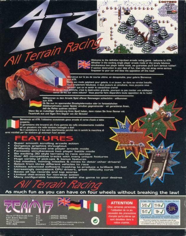 ATR: All Terrain Racing ATR All Terrain Racing ROM lt Amiga ROMs Emuparadise