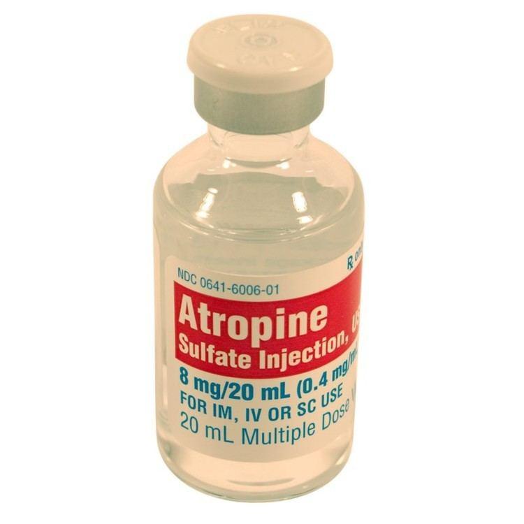 Atropine ACE Surgical Supply Co Inc Atropine Sulfate 04mgml 20ml