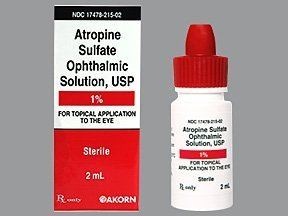 Atropine atropine ophthalmic Uses Side Effects Interactions Pictures