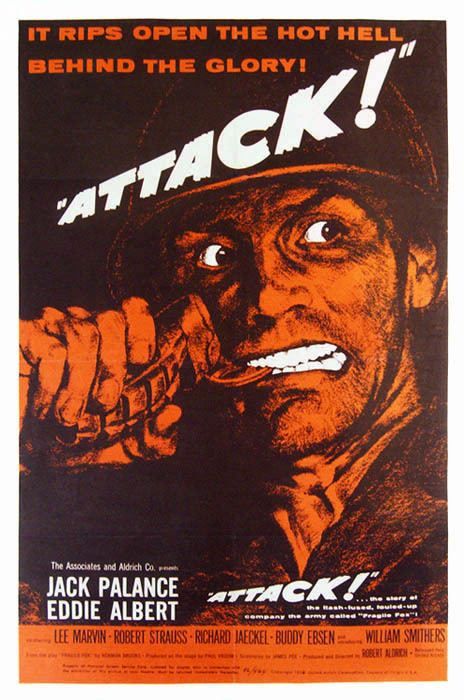 Attack (1956 film) Movie Review Jack Palance in Attack 1956 Ed Grabianowski