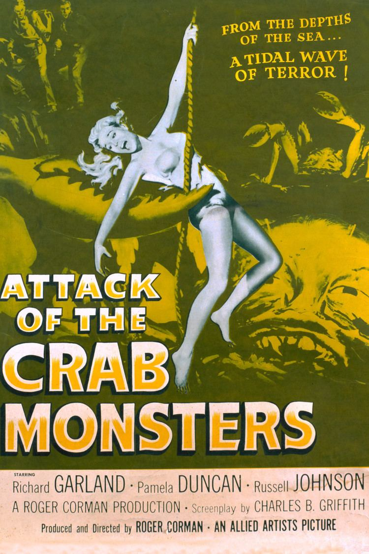 Attack of the Crab Monsters wwwgstaticcomtvthumbmovieposters46374p46374