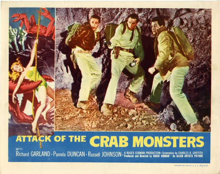 Attack of the Crab Monsters Attack of the Crab Monsters 1957