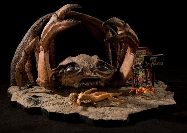 Attack of the Crab Monsters Attack of the Crab Monsters 1957 The Doctors Model Mansion