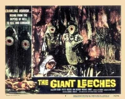Attack of the Giant Leeches Classic Screams Attack of the Giant Leeches 1959 Page