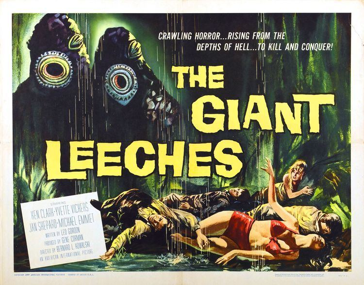 Attack of the Giant Leeches Attack of the Giant Leeches 1959 RetroVision Media