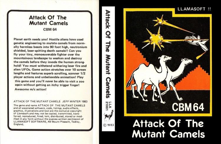 Attack of the Mutant Camels 05 Attack of The Mutant Camels C64 YouTube
