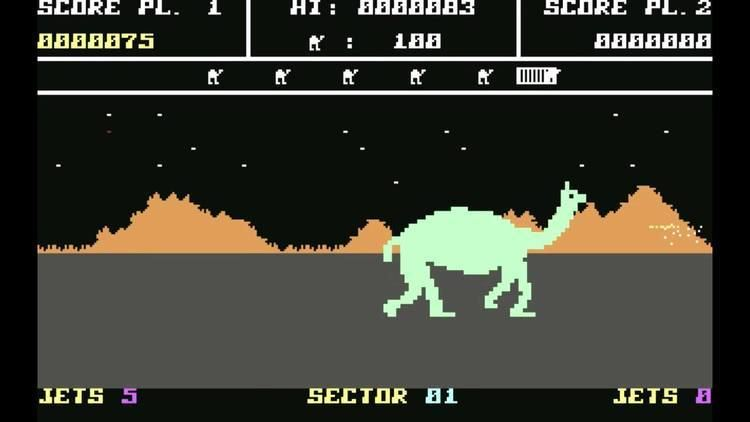 Attack of the Mutant Camels The Game Replay Attack of the Mutant Camels Part 1 YouTube