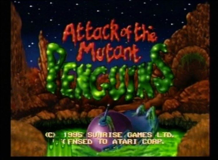 Attack of the Mutant Penguins Attack of the Mutant Penguins Atari Jaguar AVGN episode segment
