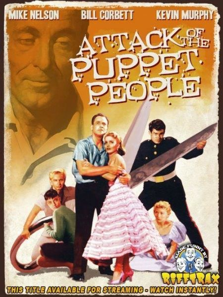 Attack of the Puppet People Attack of the Puppet People RiffTrax