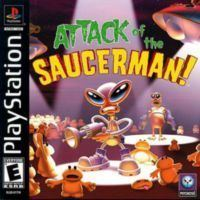 Attack of the Saucerman Attack Of The Saucerman PSX PS1 Eboot Free Download PSX EBOOTS
