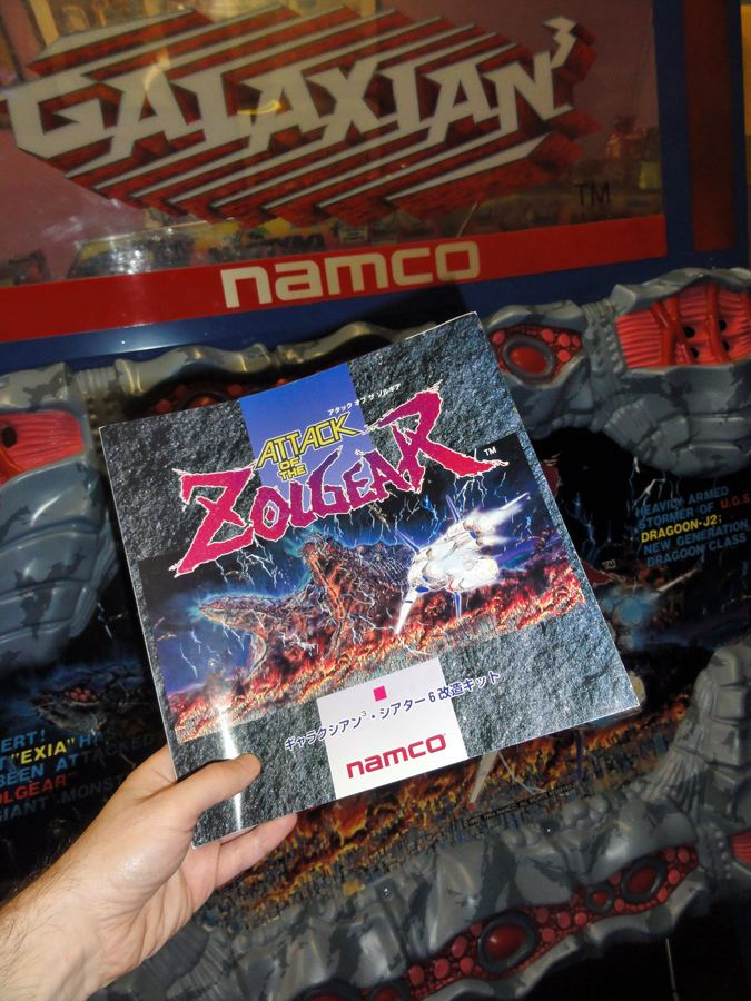 Attack of the Zolgear Galaxian 39Attack Of The Zolgear39 the flyer