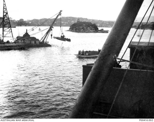 Attack on Sydney Harbour Australia under attack Australian War Memorial