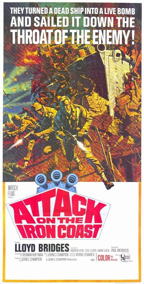 Attack on the Iron Coast Attack on The Iron Coast Movie Posters From Movie Poster Shop