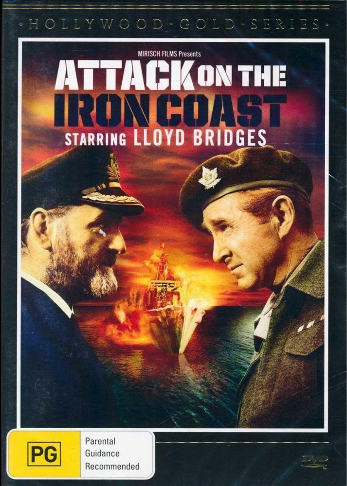 Attack on the Iron Coast Attack on the Iron Coast on DVD Buy new DVD Bluray movie