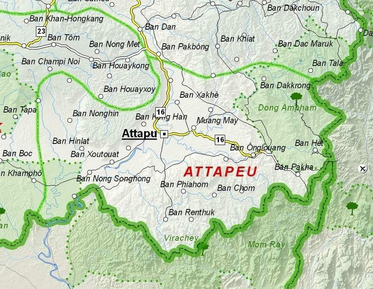 Attapeu Province Wikipedia