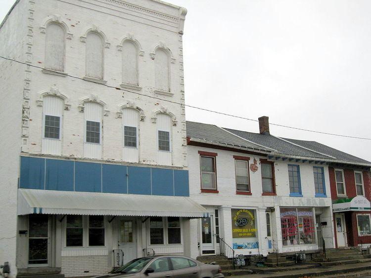 Attica Market and Main Historic District