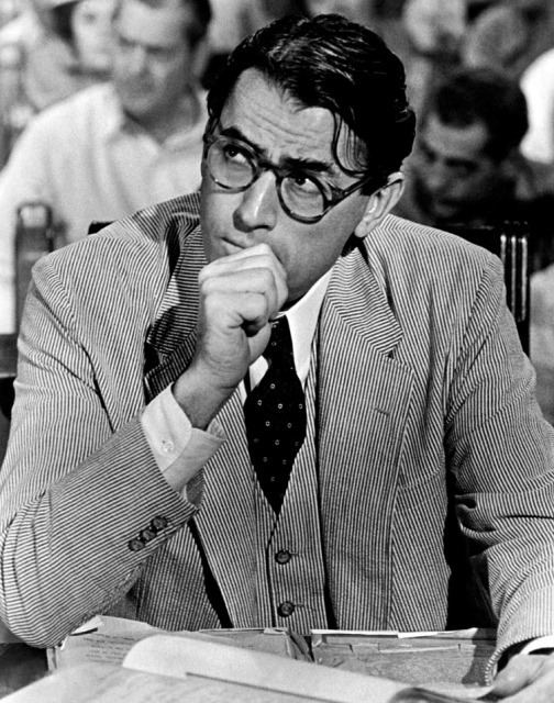 Atticus Finch The My Hero Project Atticus FinchltBRgt from To Kill a Mockingbird
