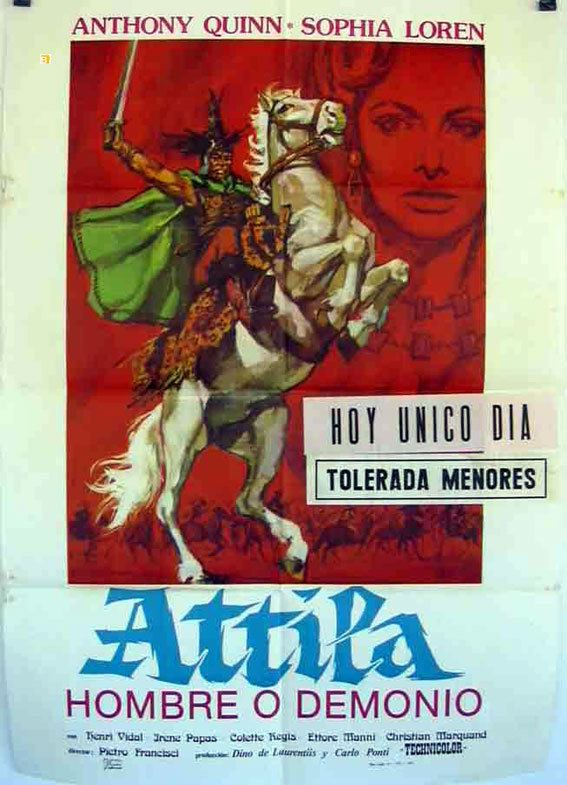 Attila (1954 film) ATILA MOVIE POSTER ATTILA MOVIE POSTER