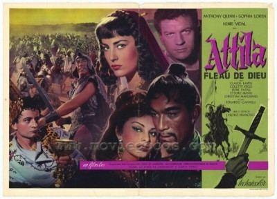 Attila (1954 film) Sophia Loren 4Film Collection Carosello Napoletano Attila