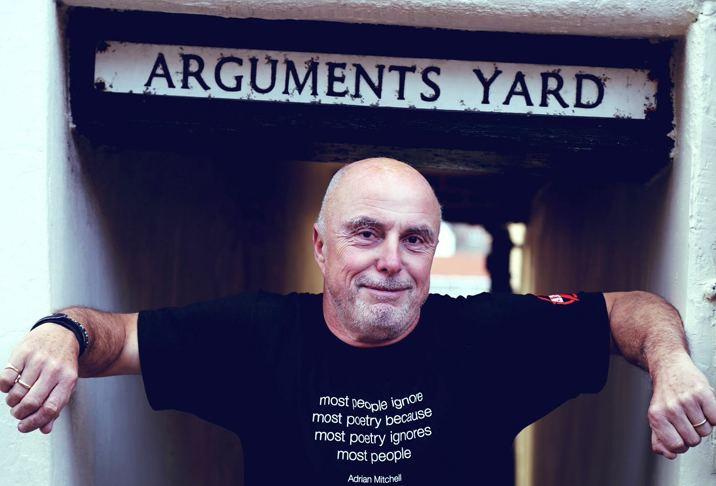 Attila the Stockbroker Shoreham Wordfest 2015 Arguments Yard Attila The
