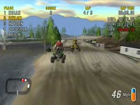 ATV Offroad Fury 2 ATV Offroad fury 2 Gameplay YouTube