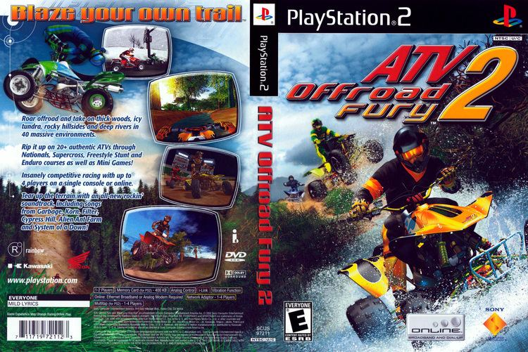 ATV Offroad Fury 2 wwwtheisozonecomimagescoverps295jpg