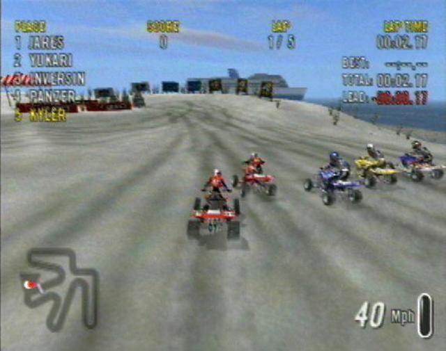 ATV Offroad Fury 2 Playstation 2 Reviews AB by The Video Game Critic