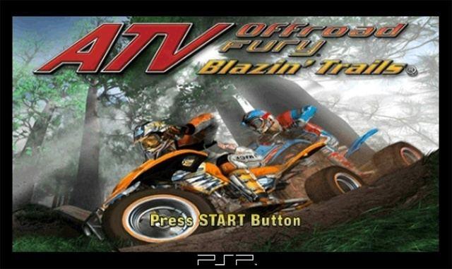 ATV Offroad Fury: Blazin' Trails ATV Offroad Fury Blazin39 Trails PSP GameStopPluscom