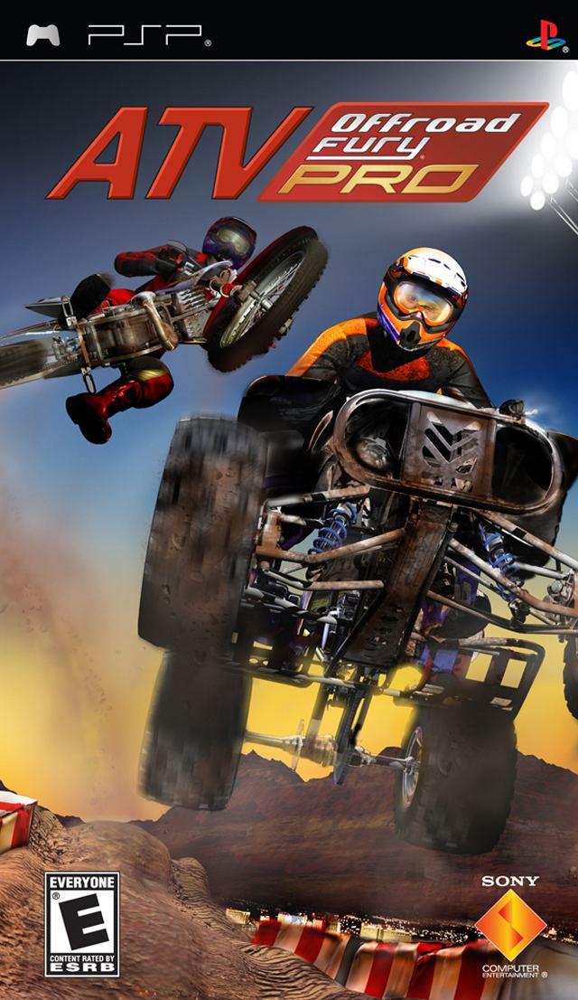 ATV Offroad Fury Pro gamingfmvideogamesImagecoversatvoffroadfur