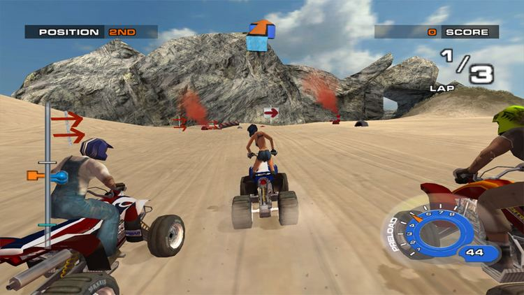 ATV Quad Power Racing 2 ATV Quad Power Racing 2 ISO lt GCN ISOs Emuparadise